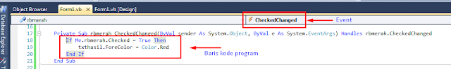 contoh radiobutton visual basic