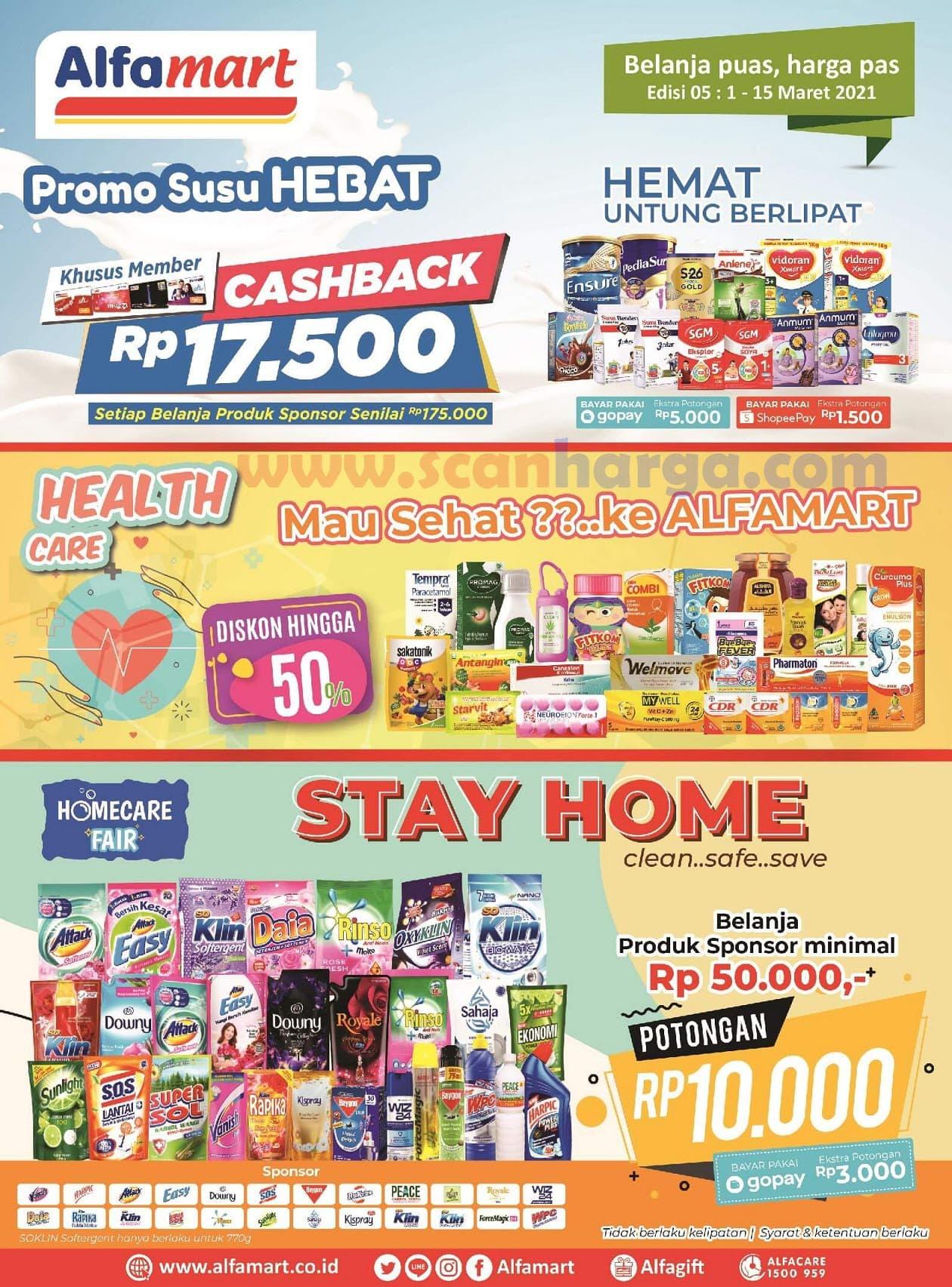 Katalog Promo Alfamart 1 - 15 Maret 2021 1
