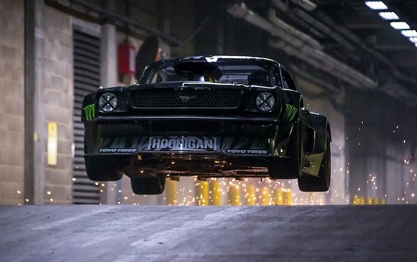 Ken Block Hoonicorn Londres
