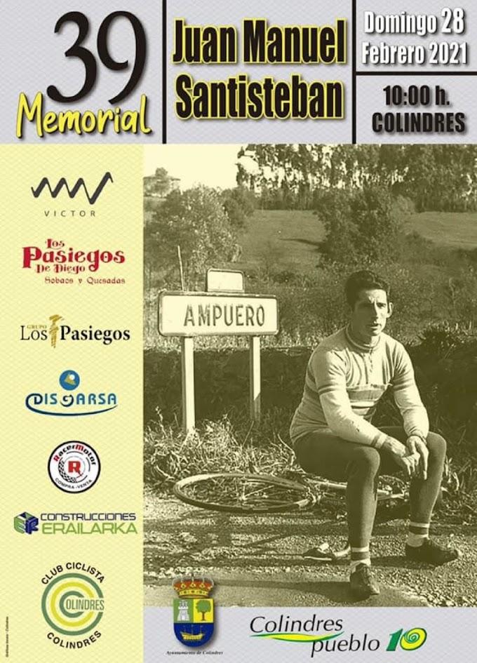 El Memorial Juan Manuel Santisteban abre una nueva temporada de carretera para los élites / Sub23