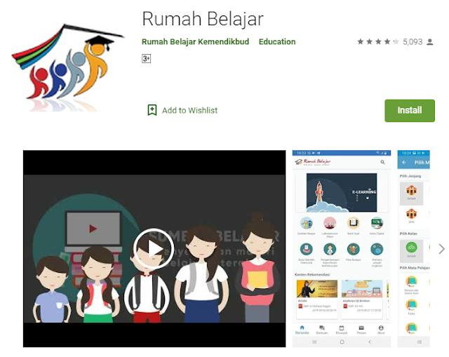 Download Aplikasi Rumah Belajar Kemendikbud Versi Android