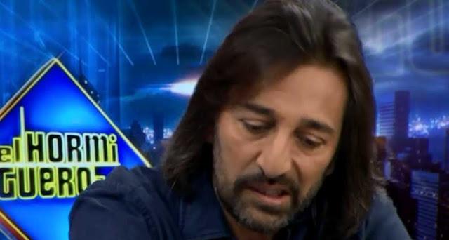 El cantante Antonio Carmona en El Hormiguero