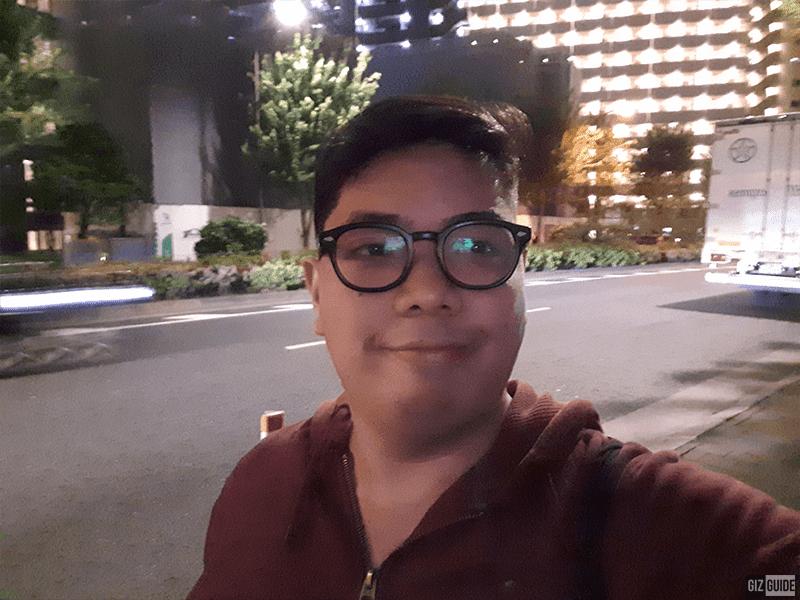 Selfie camera low-light