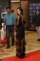 Actress Soniya Stills in Beautiful Black Long Dress at SIIMA Short Film Awards 2017 .COM 0110.JPG