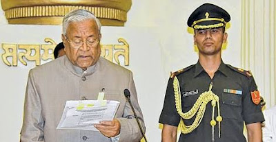 PB Acharya sworn in as the Governor of Manipur