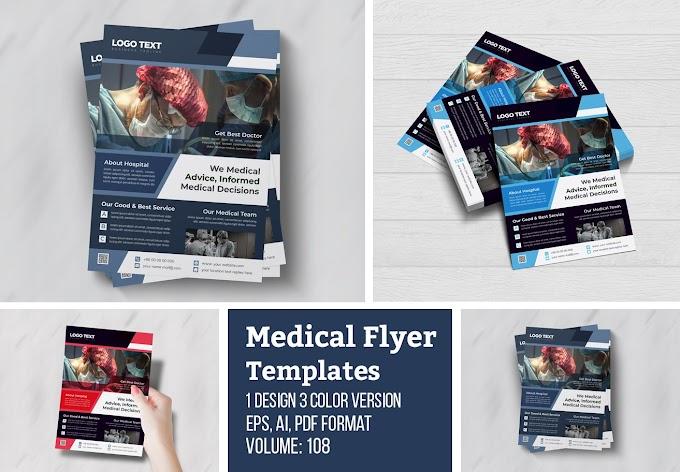 Healthcare Flyer Template[Photoshop][4969281]