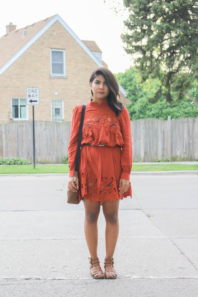 The Lace Dress The Color Palette A Lifestyle Fashion