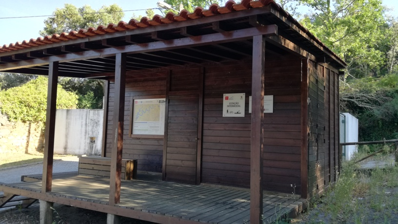 Estação Intermodal de Álvaro - Estação Intermodal de Vale de Góis