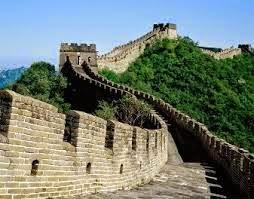 Muralha da China uma das maiores construção do planeta e é declarada patrimônio da humanidade
