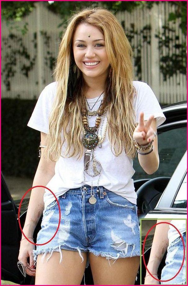 Gudu Ngiseng Blog Miley Cyrus Tattoos