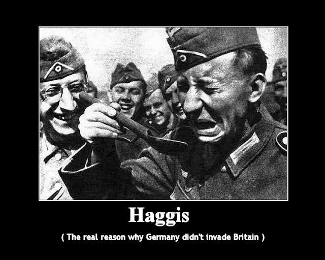 Funny German Haggis Joke Image