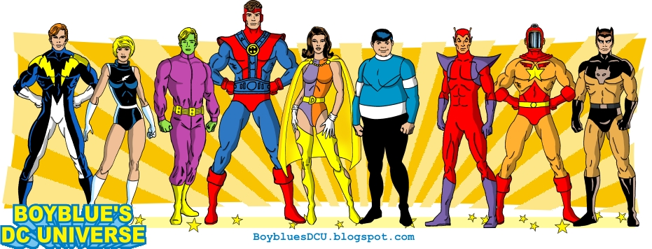 Lightning Lad, Light Lass, Brainiac 5, Colossal Boy, Duo Damsel, Bouncing Boy, Chameleon Boy, Wildfire, Timber Wolf