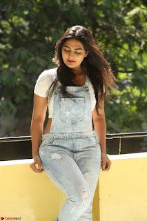 Neha Deshpande in Spicy Denim Jumpsuit and Whtie Crop Top March 2017 118.JPG