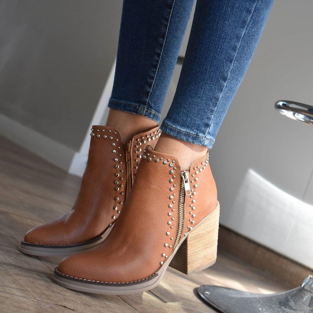 Botas y botinetas invierno 2020. Moda calzado femenino mujer 2020 invierno.