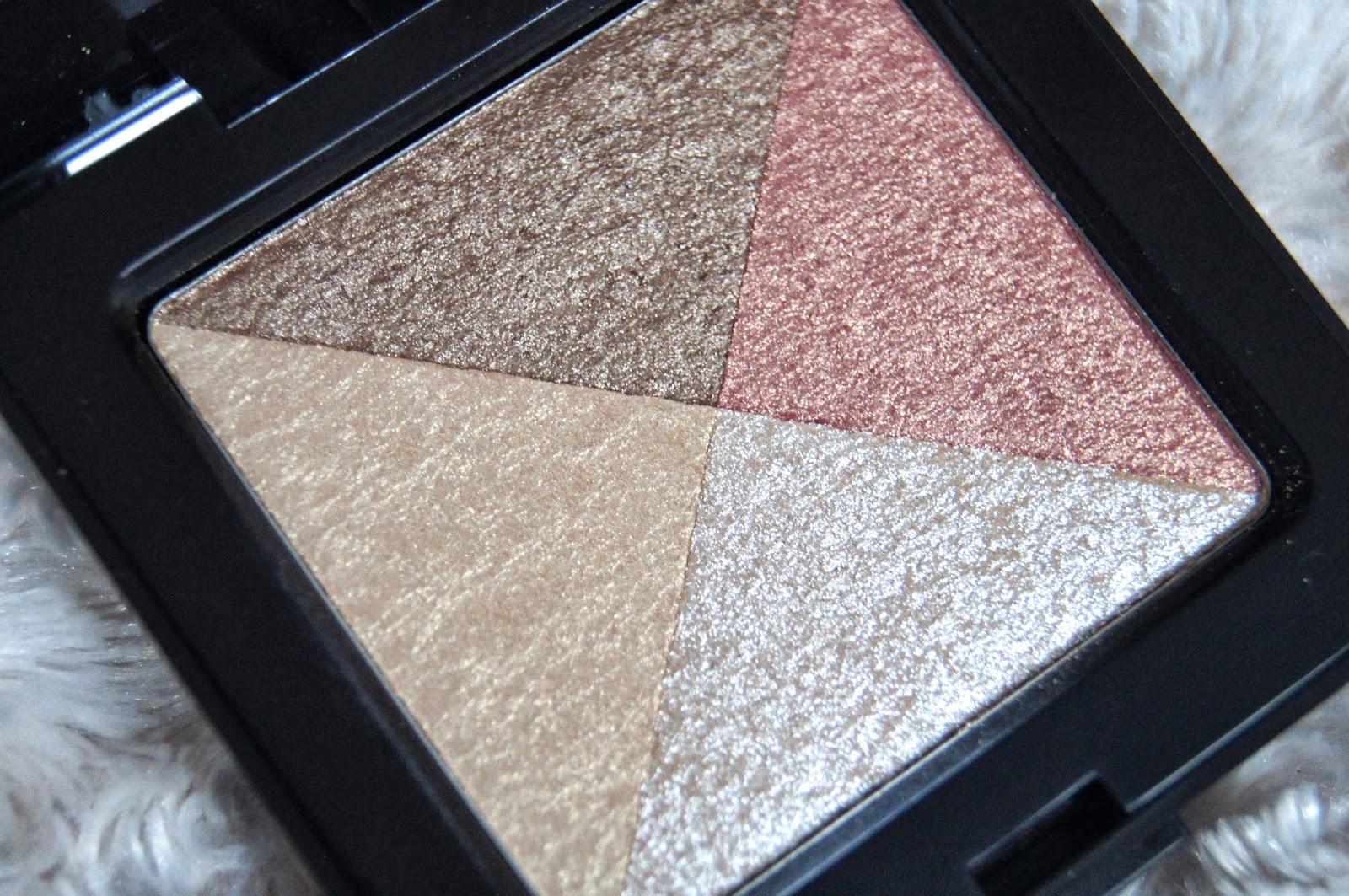 laura mercier shimmer bloc mosaic highlighter review