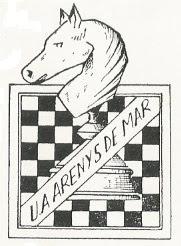 Escudo de la Unión Ajedrecista de Arenys de Mar