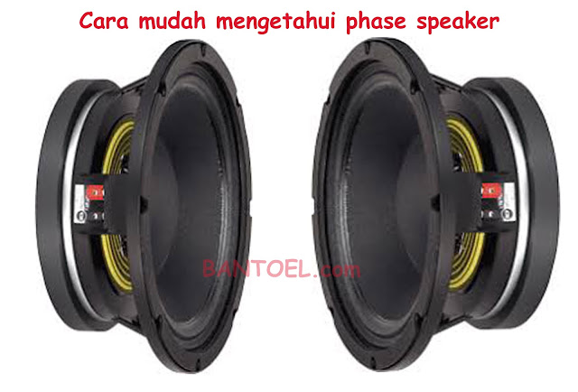 Cara Mengetahui Phase Speaker Dengan Mudah