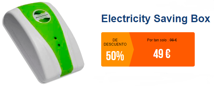 Opiniones Electricity saving box