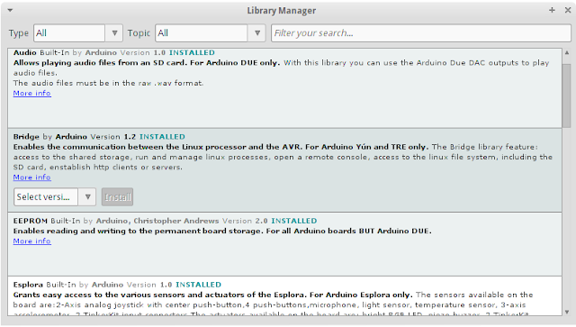 instal library