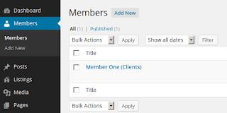 Mengenal Menu – Menu Yang ada di WordPress