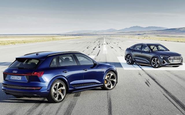 Novo Audi e-tron S 2021