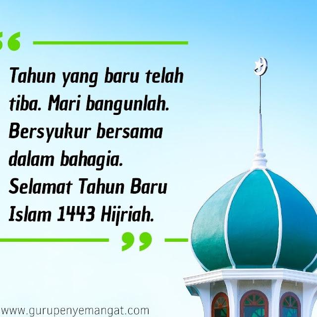 Quotes Tahun Baru Islam 1443 H