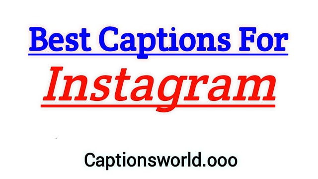 Best captions for Instagram