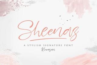 Sheenaz Font