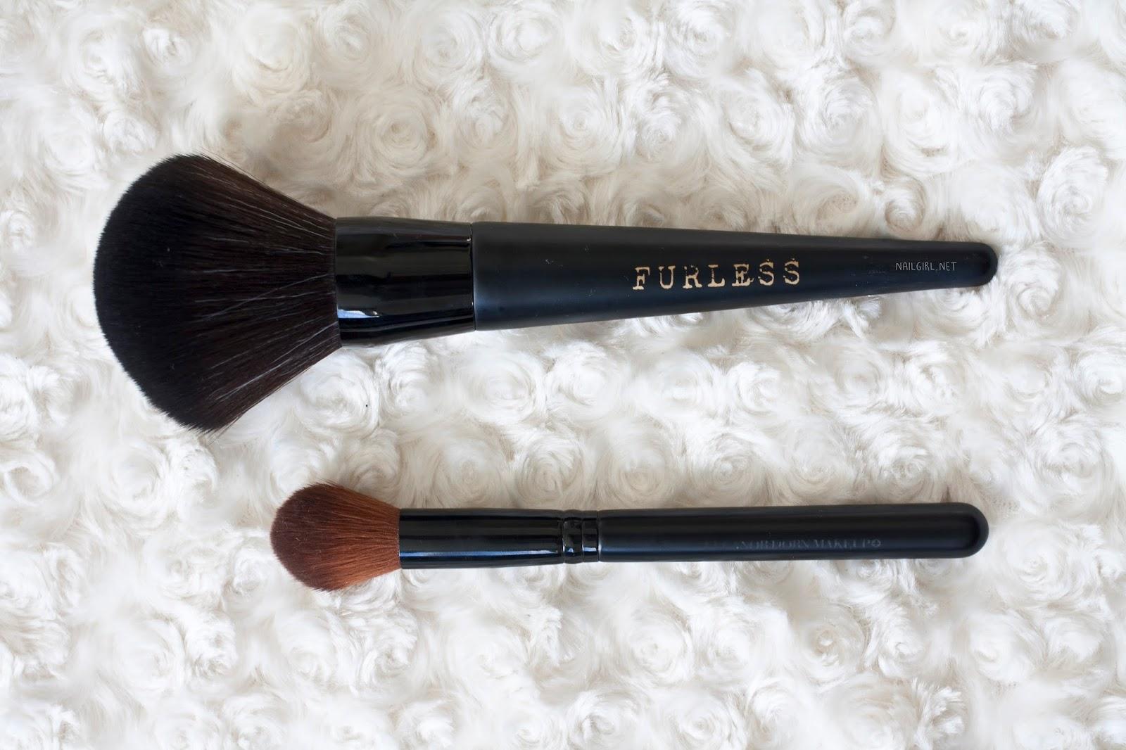 furless cosmetics makeup brush eleanor dorn