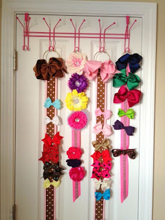 11 maneras de c mo hacer organizadores de accesorios para el cabello mimundomanual - Zapatero de tela para colgar ...
