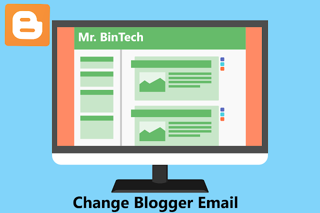 blogger gmail change