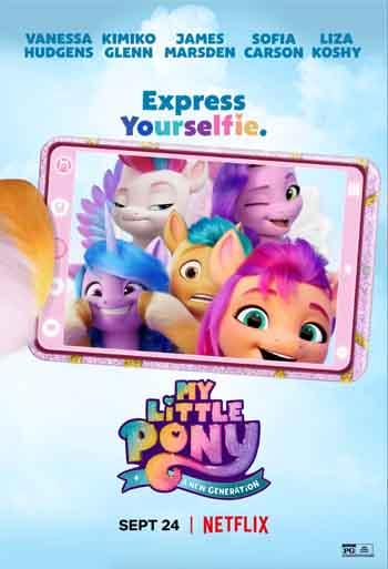 My Little Pony A New Generation 2021 480p 300MB BRRip Dual Audio