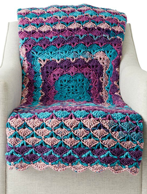 Crochet From The Middle Afghan - Tutorial