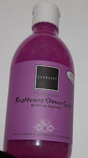 Whitening Scarlett Shower Scrub