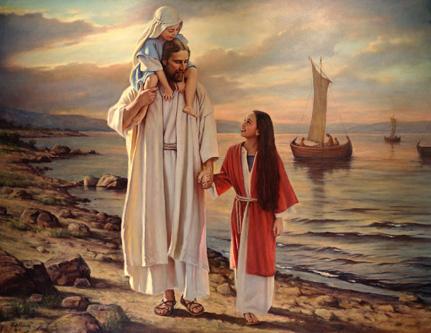 Resultado de imagem para jesus andando
