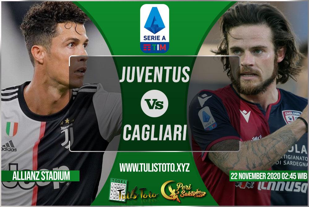 Prediksi Juventus vs Cagliari 22 November 2020
