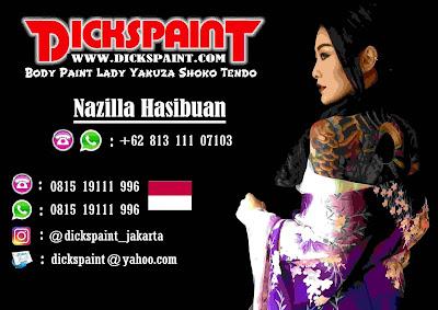 Body Painting Shoko Tendo Jakarta