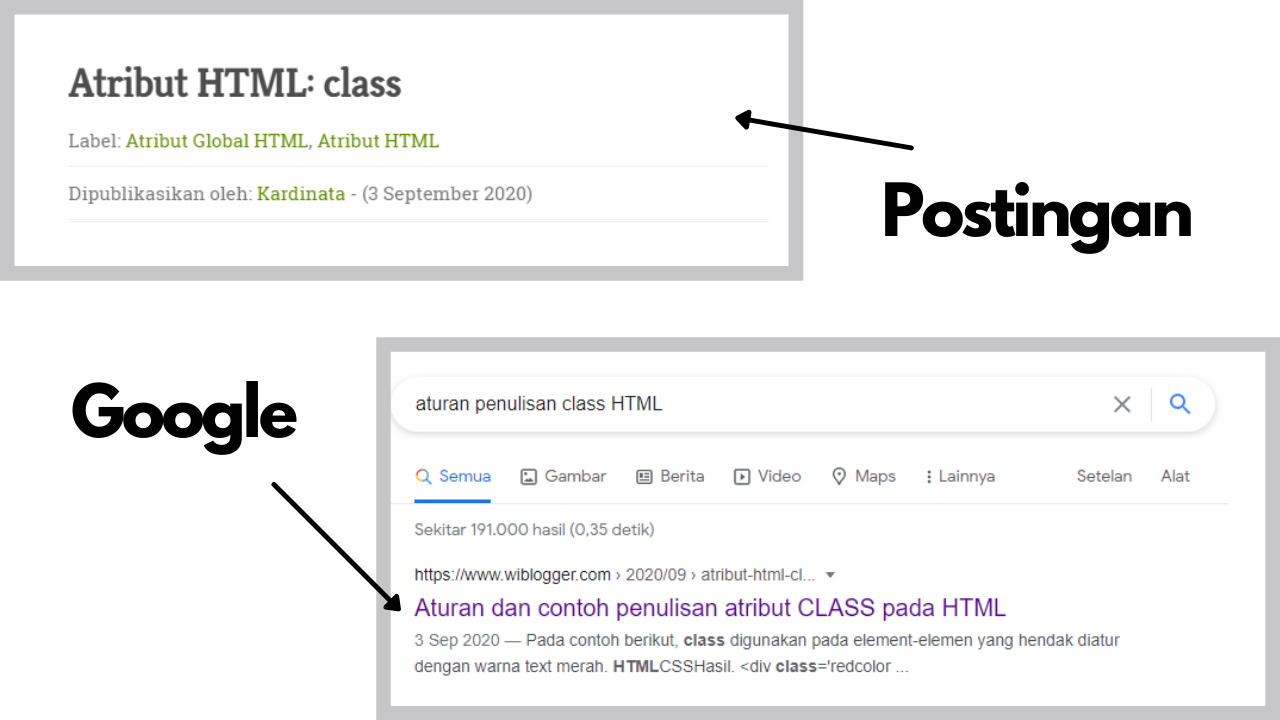 Membuat judul postingan blog berbeda dengan di google