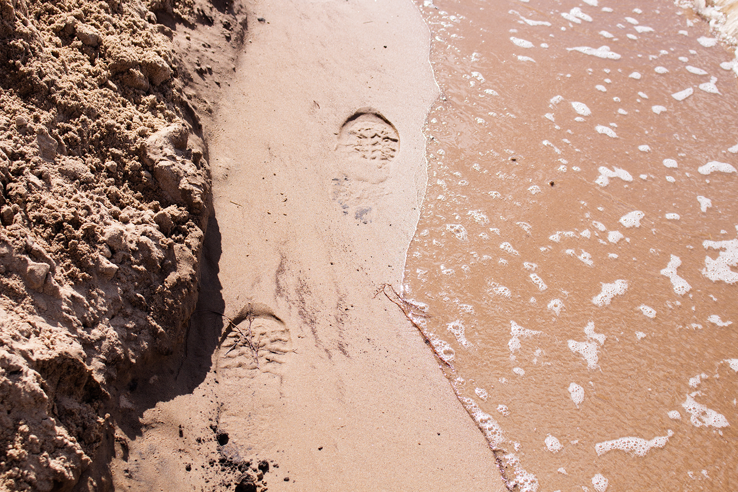 Footprints in Formby