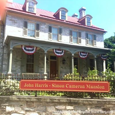 The John Harris - Simon Cameron Mansion in Harrisburg, Pennsylvania
