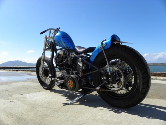 Harley Davidson Shovelhead By Vida Motorcycle Hell Kustom