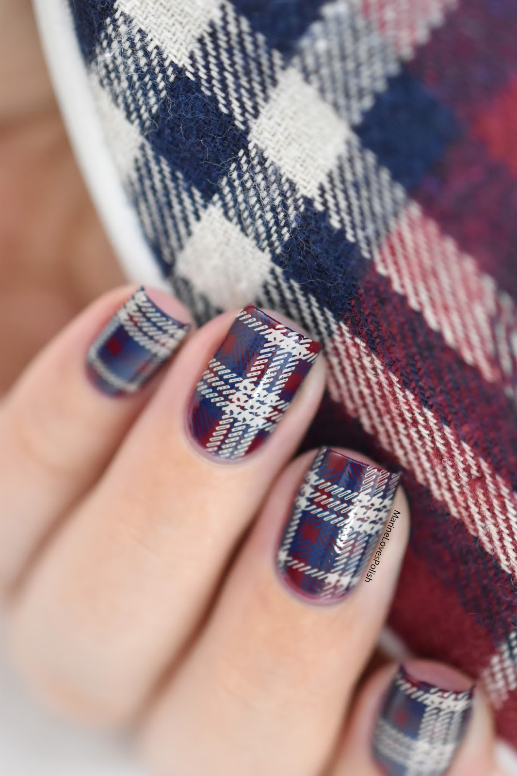 Plaid nail ideas gallery prinsesfo Choice Image