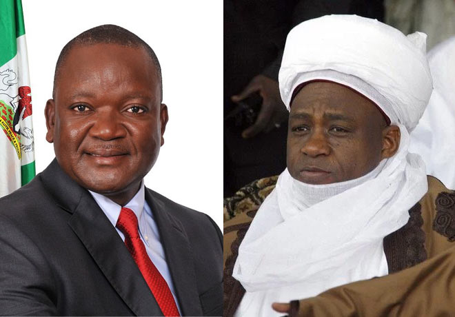 Sultan of Sokoto is ignorant - Benue State governor Samuel Ortom