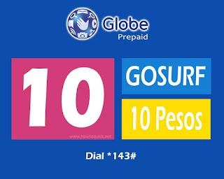 GoSURF10 – 40MB Consumable Internet Promo for only 10 Pesos