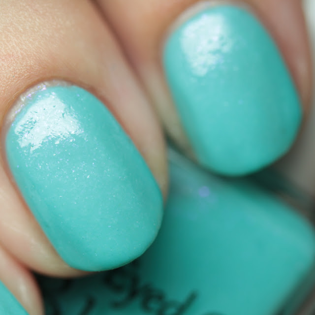 Blue-Eyed Girl Lacquer Three Years and S-teal Going Strong
