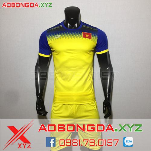 Áo Đội Tuyển Việt Nam 2020 Training Màu Vàng