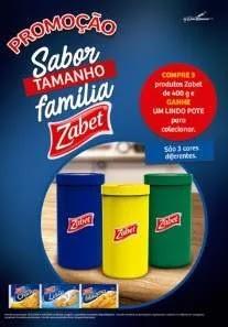 Promoção Zabet 2020 Sabor Tamanho Família Compre Ganhe Pote - Colecionar