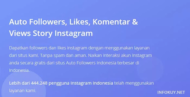 auto followers - situs auto followers instagram