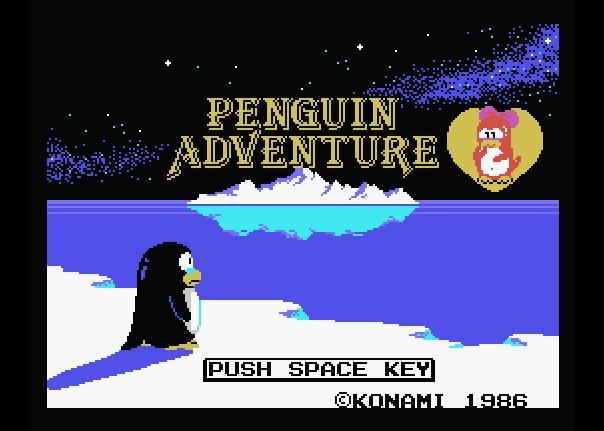 Videojuego Penguin Adventure