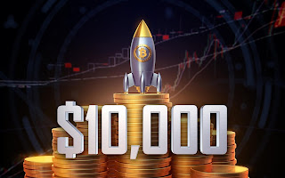 سعرالبيتكوين يتخطى 10000 دولار لأول مرة منذ Sep العام الماضي